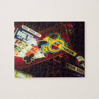 Exposición doble, casino interior, Las Vegas, Puzzles