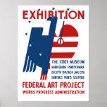 Exposición -- El PA de Harrisburg del museo del Póster
