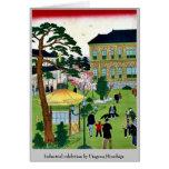 Exposición industrial por Utagawa, Hiroshige Tarjetas