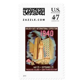 Exposición internacional 1940 del Golden Gate Estampillas