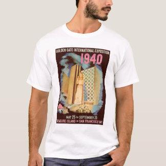 Exposición internacional 1940 del Golden Gate Playera