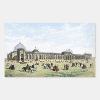 Exposición internacional de 1862 rectangular altavoz