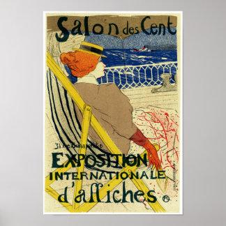 Exposición Internationale del ~ del centavo del DE Poster