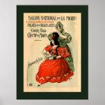Exposición nacional del palacio de la moda de bell posters