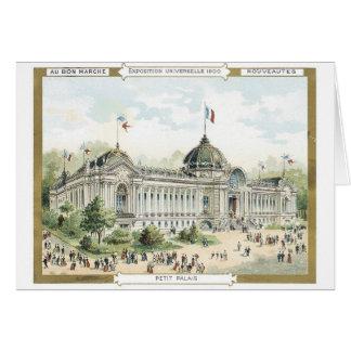 Exposición Universeille 1900 de Marche del Bon del Tarjetón