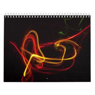 Exposiciones de neón más brillantes de ellos el calendarios