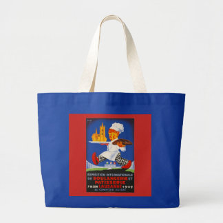 Exposition Boulangerie et Patisserie Large Tote Bag