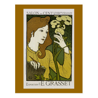 ~ Exposition de E. Grasset del centavo del DES del Tarjeta Postal