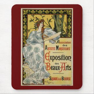 Exposition des Beaux-Arts Mouse Pad