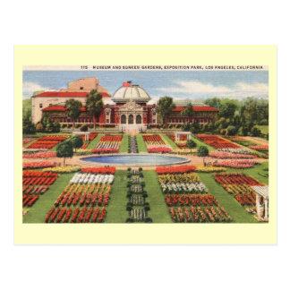 Exposition Park, Los Angeles, California Vintage Postcard