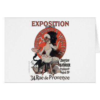 Exposition Rue de Provence Greeting Card