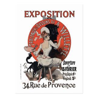 Exposition Rue de Provence Postcard