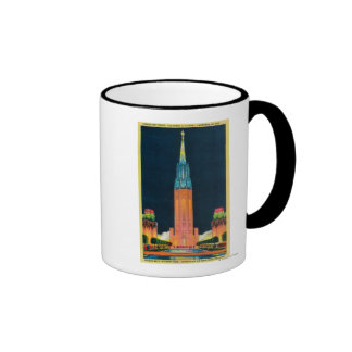Exposition Tower, The Spire to the Sun Ringer Coffee Mug