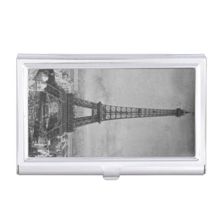 Exposition Universelle 1889 Eiffel Tower Vintage Business Card Holder