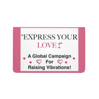 ¡Exprese su amor! Cuadernos
