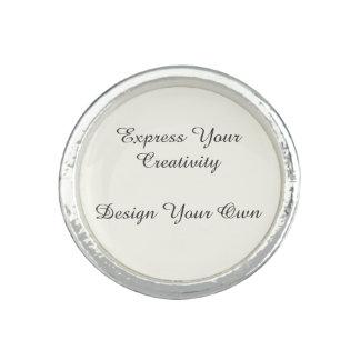 Exprese su diseño de la creatividad sus los anillo