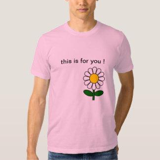 ¡Exprese sus sensaciones! Camisas