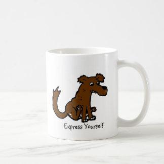 Exprésese taza de café