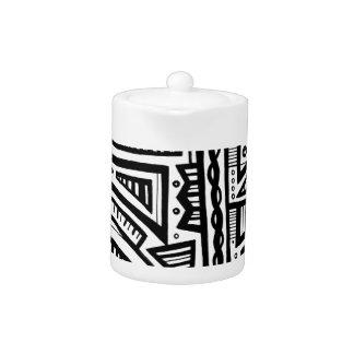 Expresión abstracta de Gailis blanco y negro
