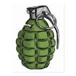 Expresión de la granada postal