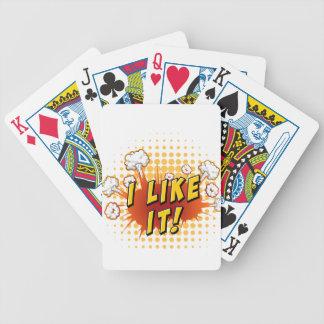 Expresión de la palabra baraja de cartas