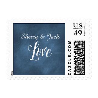Expresión del amor con los nombres de sello