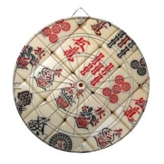 Expresión oriental tablero de dardos