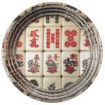 Expresión oriental plato de cerámica