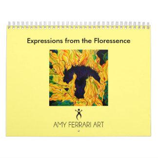 Expresiones del calendario de Floressence