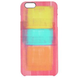Expresiones del color funda clearly™ deflector para iPhone 6 plus de unc