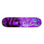 Expresiones en el amor de la púrpura patinetas personalizadas