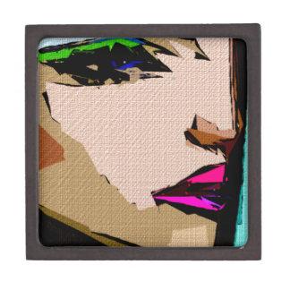 Expresiones femeninas 711 cajas de recuerdo de calidad