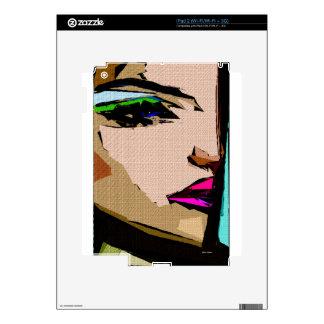 Expresiones femeninas 711 skins para iPad 2