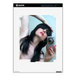 Expresiones reflejadas 1 - autorretrato iPad 3 pegatina skin