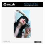 Expresiones reflejadas 1 - autorretrato skins para iPod touch 4G