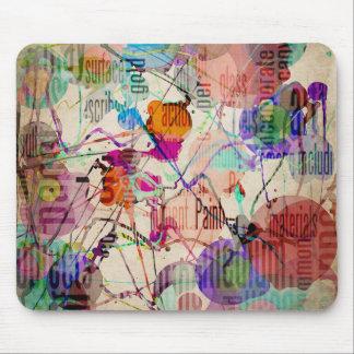 Expresionismo abstracto 1 alfombrilla de ratones