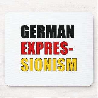 Expresionismo alemán tapete de ratón