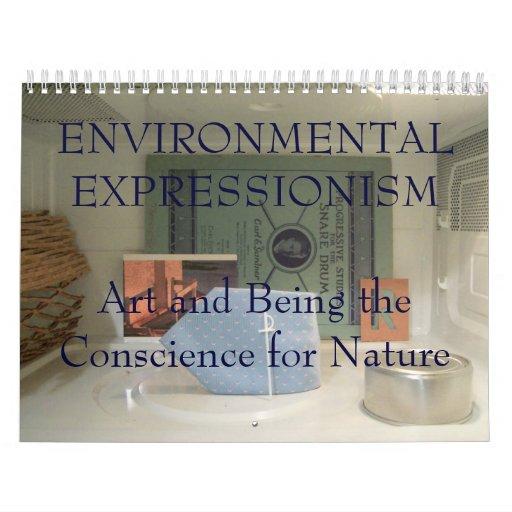 Expresionismo ambiental calendarios de pared