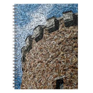 Expresionismo de Digitaces: Torrecilla del castill Libro De Apuntes Con Espiral