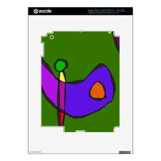 Expresionismo de Minimalistic iPad 3 Pegatinas Skins