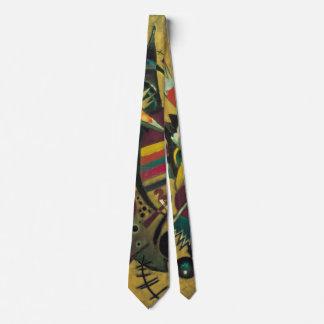 Expresionismo del vintage, puntos de Wassily Corbata Personalizada
