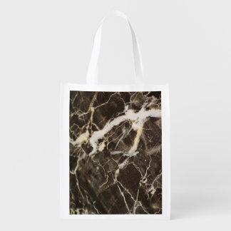 Expresionismo Vetear-Abstracto Bolsa Reutilizable