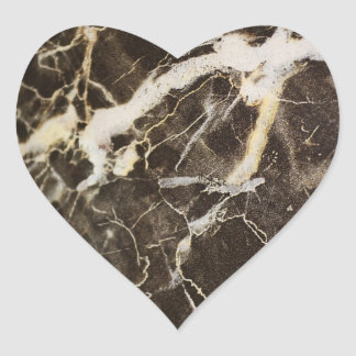 Expresionismo Vetear-Abstracto Pegatina En Forma De Corazón