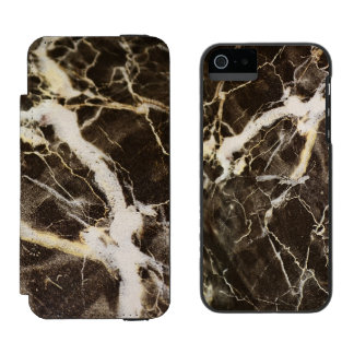 Expresionismo Vetear-Abstracto Funda Cartera Para iPhone 5 Watson