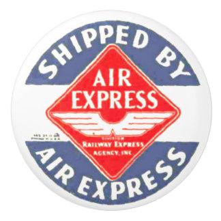 Expreso de aire por el botón de cerámica de la pomo de cerámica