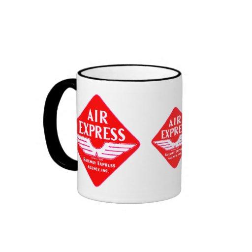 Expreso de aire por la taza expresa de la agencia
