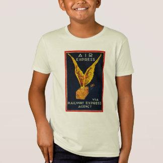 Expreso de aire vía las camisetas expresas de los