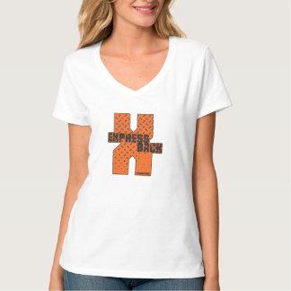 Express Back Women's V-Neck T-Shirt