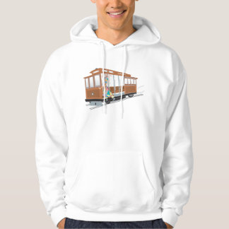 Express Cable Car Hooded Pullover