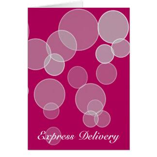 Express Delivery - Body Appreciation Card
